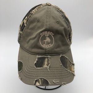 Cowboy Up Camouflage Hat, Velcro